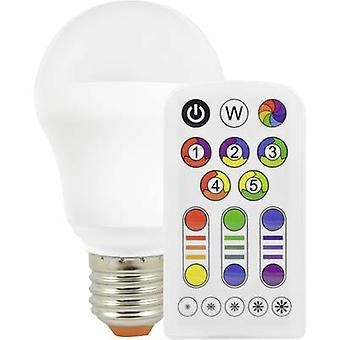 Müller Licht LED EEC A (A++ - E) E27 Arbitrary 7.5 W = 40 W RGBW (Ø x L) 61 mm x 105 mm colour-changing, dimmable, incl. remote control 1 pc(s)