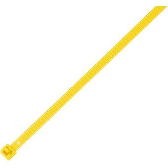 HellermannTyton 115-00004 LR55R-PA66-YE-Q1 Cable tie 196 mm Yellow Releasable, Heat-resistant 25 pc(s)
