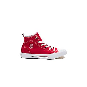 Sneakers Red Ronalda Us Polo Woman