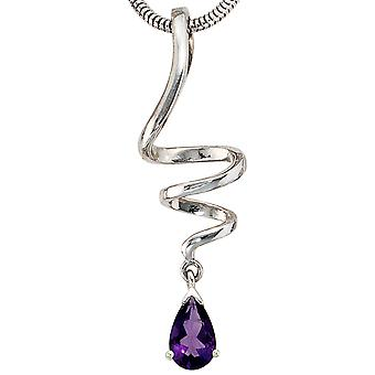 Pendant 925 /-s Amethyst pendant silver Sterling Silver 925 Silver