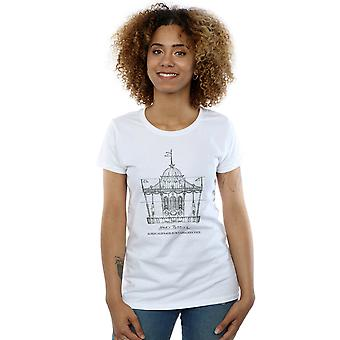 Disney Women's Mary Poppins Carousel Sketch T-Shirt