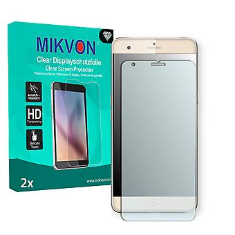 ZTE Blade V7 Max Screen Protector - Mikvon Clear (Retail Package with accessories) (intentionally smaller than the display due to its curved surface)