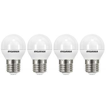 4 x Sylvania ToLEDo Ball E27 V4 5.5W Homelight LED 470lm [Energy Class A+]