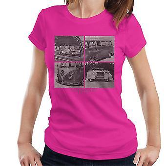 Official Volkswagen Camper Sketch Women's T-Shirt