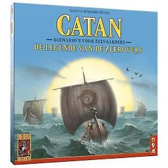 Catan: Legende av pirater-styret game