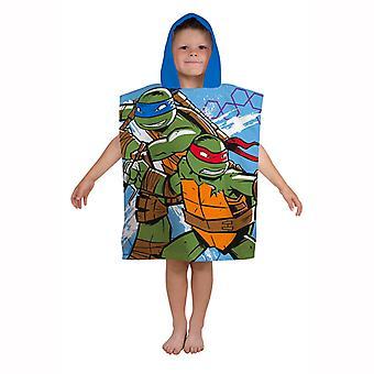 Turtles beach towel Poncho 115 * 50 cm