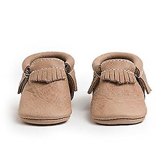 Freshly Picked Baby Girl FPCWEB Moccasin Leather Slip On Boots