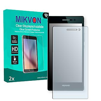 Huawei Ascend P7 Screen Protector - Mikvon Clear (Retail Package with accessories)