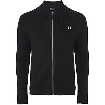 Fred Perry Bomber Neck Cardigan K5506 102