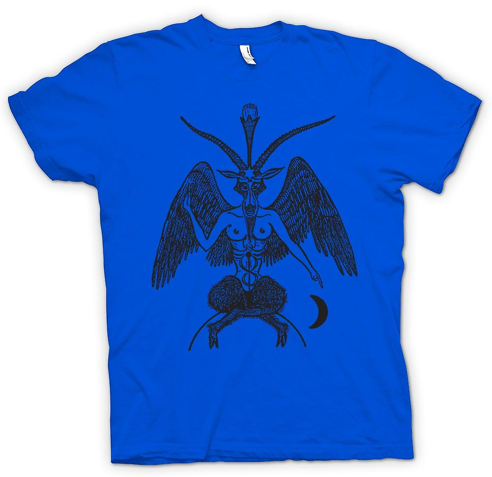 Mens T-shirt - Horned God - Pagan Witchcraft