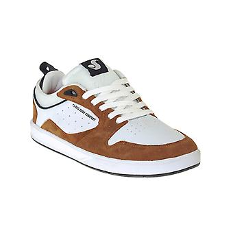 DVS Brown-White Suede Ignition SC Shoe