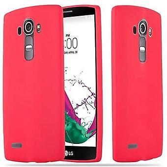 Cadorabo tilfælde af LG G4 / G4 PLUS - mobile sagen TPU silikone slik design - silikone case cover ultra slanke blød tilbage cover tilfældet kofanger