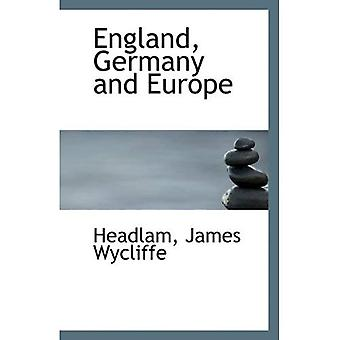 Anglia, Niemcy i Europa