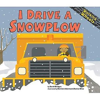 Ich fahre ein Schneepflug (arbeiten Räder)