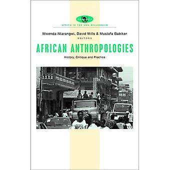 Afrikanische Anthropologien: Geschichte, Kritik und Praxis (Afrika im neuen Jahrtausend)