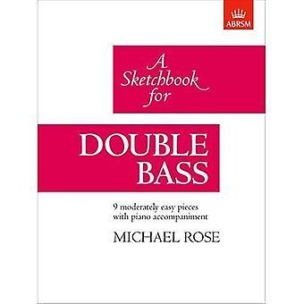 En Sketchbook for kontrabas