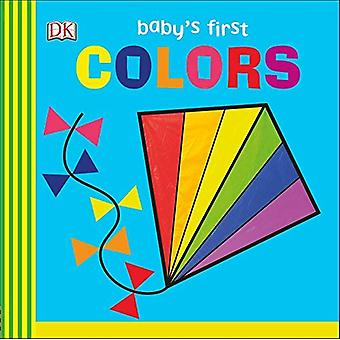 Babys første farver [Board bog]