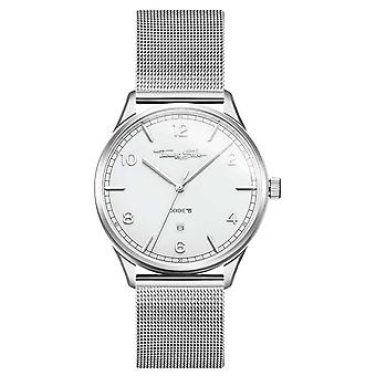Thomas Sabo | Bracelet argent maille en acier inoxydable | Cadran blanc | WA0338-201-202-40