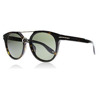 Givenchy 7034/S 08670 Dark Havana 7034/S Round Sunglasses Lens Category 3 Size 54mm