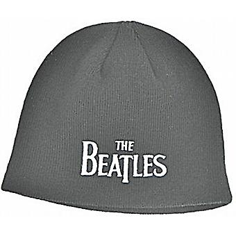 Beatles Drop T (black) woven beanie hat - official product    (ro)