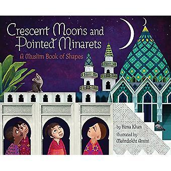 Halbmonde und Spitzen Minaretten - eine muslimische Buch Formen von Hena