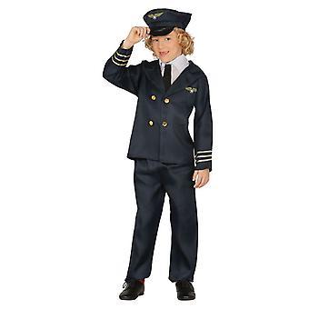Garçons pilote aviateur professions costumé