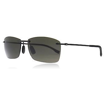 Hugo Boss 0939/S 2P6 Black Rubber 0939/S Rectangle Sunglasses Lens Category 3 Size 60mm