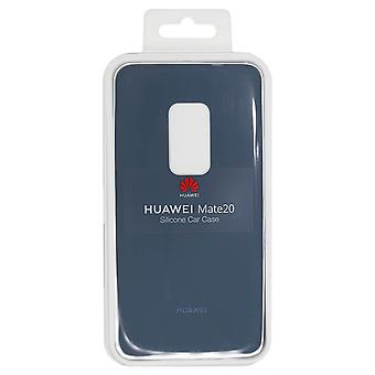 Official Huawei Mate 20 - Silicone Car Case - Light Blue | iParts4u