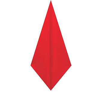 d/Spoke Mens Chilli Red Pocket Square Handkerchief Satin Feel Fabric Evening Partywear Accessory