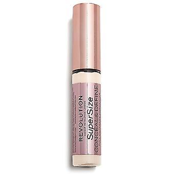 Makeup Revolution Conceal & Define Supersize Concealer C1