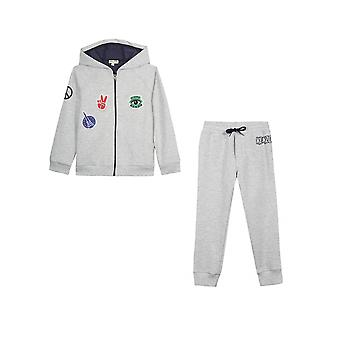 Kenzo Kids Kenzo Kids Grey Marl Celyan & Calix Trainingsanzug