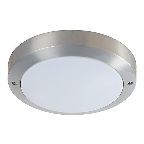 Endon YG-5003 Modern Silver Aluminium Low Energy Outdoor Bulkhead