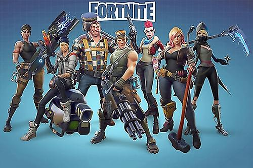 Fortnite Poster Battle Royale Game Wall Art Large Print (36x24)