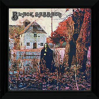 Black Sabbath  Framed Album Cover Print 12x12in