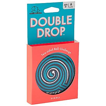 Games - Ceaco Brainwright - Double Drop Two-sided Ball Challenge New 8014