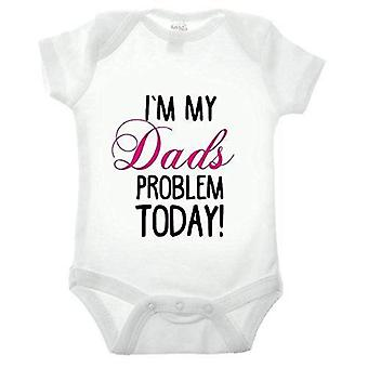 I'm my dads problem short sleeve babygrow