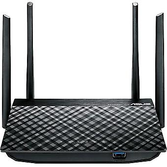 Asus rt-ac58u router wireless dual-band 867mbps 5xlan 10/100/1000 mbps 1xusb colore nero