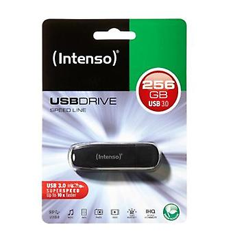 Pendrive INTENSO 3533492 256 GB USB 3.0 zwart