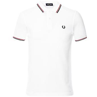 Fred Perry Twin Tipped Polo Shirt M3600 748