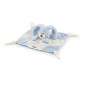 Trudi bleu lapin Doudou Cremino 26 x 26 Cm