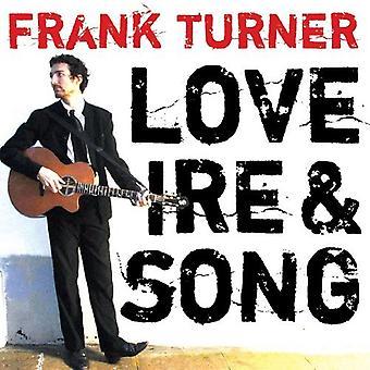 Frank Turner - Love Ire & Song [Vinyl] USA import