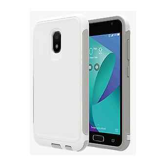 Verizon Extra Rugged Protective Case for ASUS ZenFone V Live - White/Gray