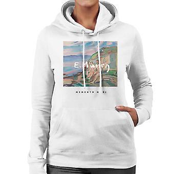 A.P.O.H Edvard Munch Beach Painting Memento Mori Women's Hooded Sweatshirt