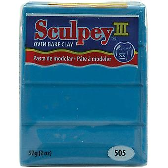 Sculpey Iii Polymer Clay 2 Ounces Turquoise S302 505