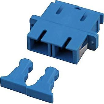 FO connector EFB Elektronik 53316.3 Blue