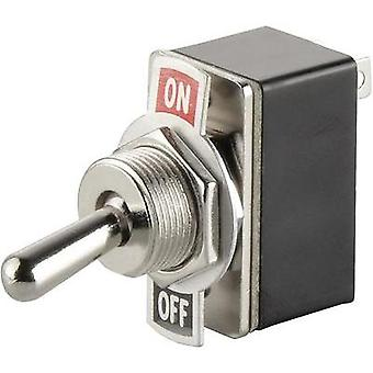 Toggle switch 250 Vac 1.5 A 1 x Off/On SCI R13-2-05 latch 1 pc(s)