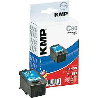 KMP replaced Canon CL-511 Compatible Cyan, Magenta, Yellow H65 1512,4030