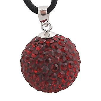 Sterling silver pendant with swarovski crystals ZD1013