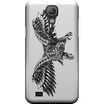 Cape falcon aan sierlijke Galaxy S4 stuurman mini