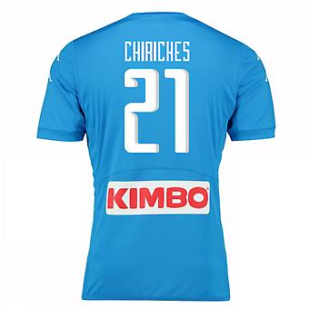 2016 / 17 Napoli authentische Heimtrikot (Chiriches 21)